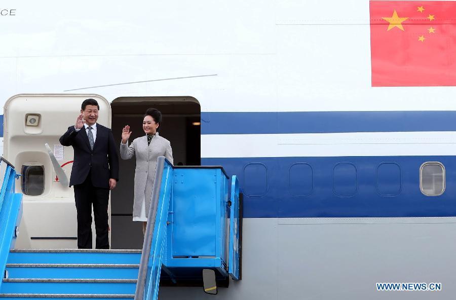 Фотосессии Председателя КНР Си Цзиньпина в ходе серии европейских визитов