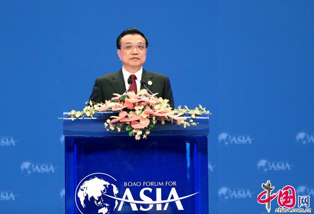 Ли Кэцян выступил с тематической речью на церемонии открытия Боаоского азиатского форума – 2014