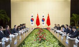Ли Кэцян встретился с премьер-министром РК