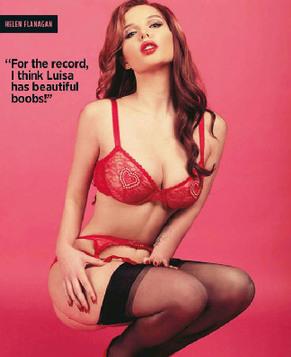 Сексуальная Хелен Флэнаган на обложке модного журнала