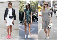 8 советов: Как модно носить кроссовки?