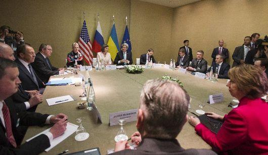 Четырехсторонняя встреча по Украине началась в Женеве