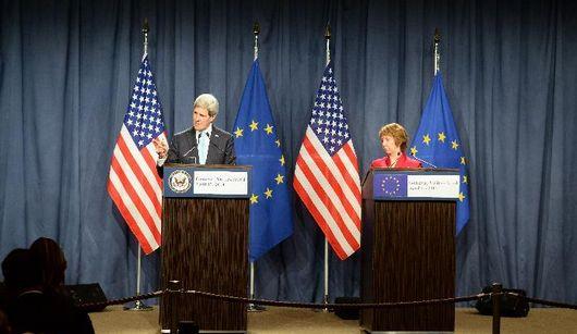На четырехсторонней встрече по вопросу украинского кризиса было достигнуто соглашение по смягчению напряженности на востоке страны