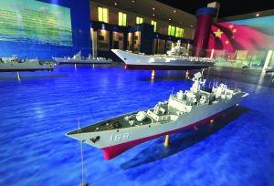 В Нанкине представлены модель флота авианосцев в честь 65-летия со дня создания ВМС НОАК
