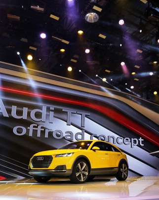 Audi представила в Пекине концепт кроссовера TT offroad