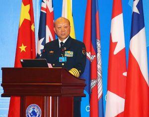 У Шэнли выступил с речью на 14-м ежегодном совещании Форума ВМС стран западной части Тихого океана