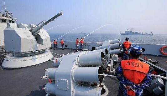 Крупные международные военно-морские учения состоялись у побережья Циндао
