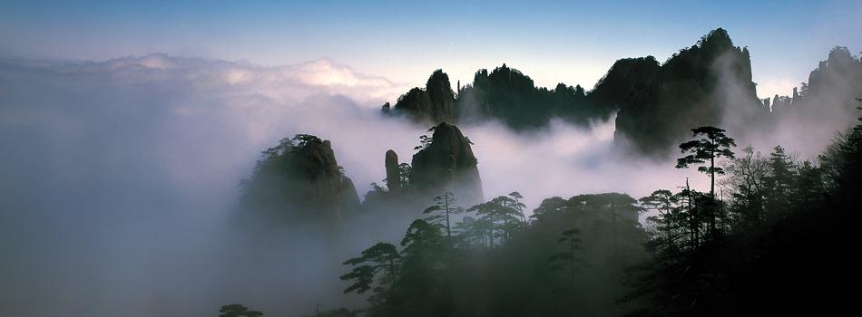 Избранные фото гор Хуаншань (1)