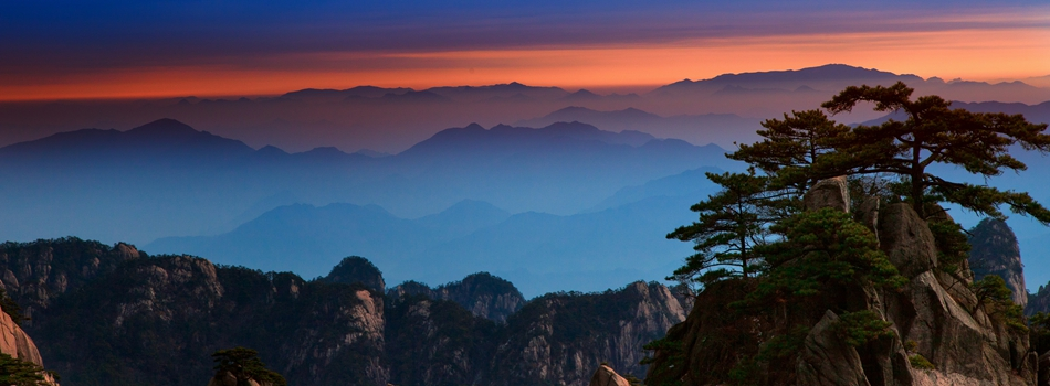 Избранные фото гор Хуаншань (2)