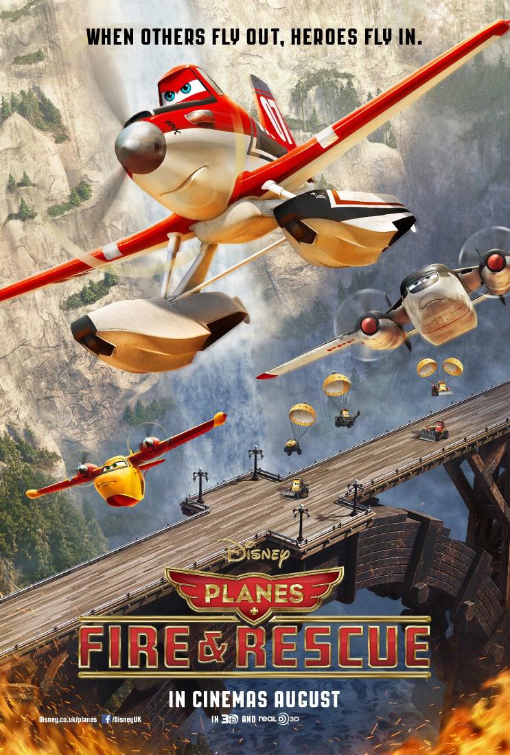 Афиши фильма самолеты огонь и вода