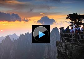 Видео-обзор гор Хуаншань