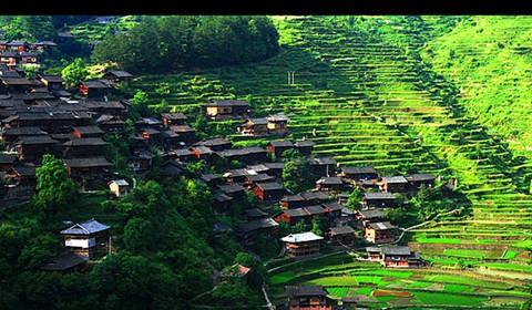 «Китайская мечта» деревни народности мяо из тысячи семей