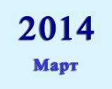 Хроника важных макроэкономических событий Китая в марте 2014 г.