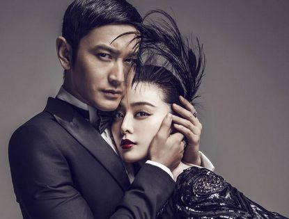 Фань Бинбин и Хуан Сяомин попали на обложку модного журнала