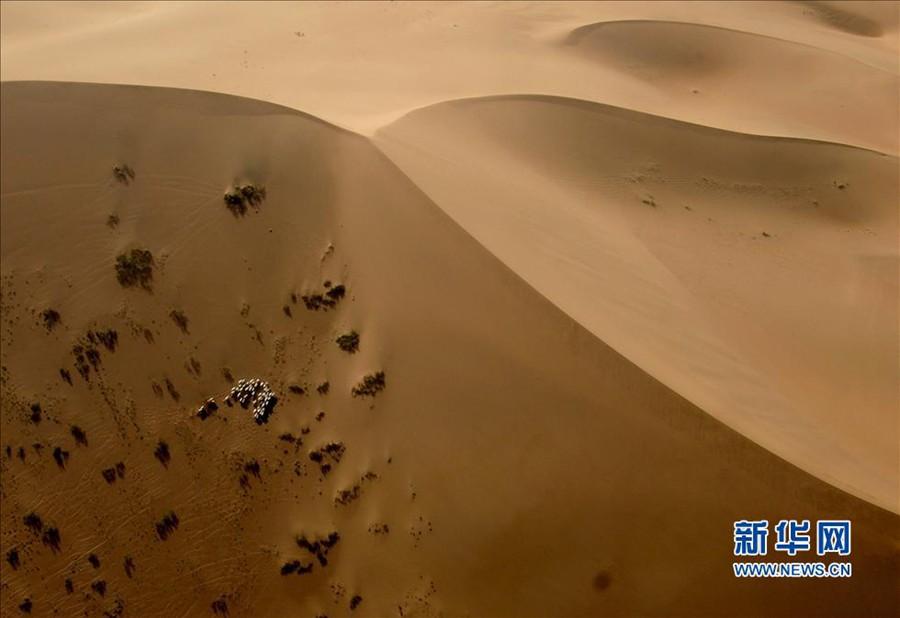 Красивый Китай: внутренние зоны пустыни Баданьцзилинь