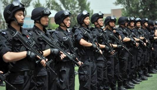 В Пекине прошли антитеррористические учения