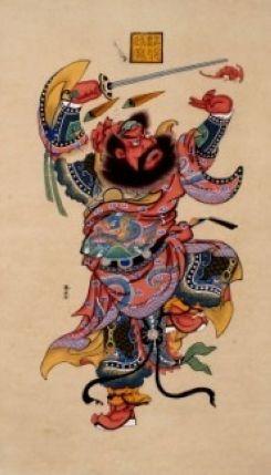 Обычай Праздника Дуаньу: картины Чжункуй