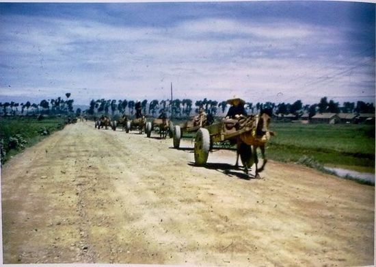 Цветные фотографии со времен войны с японскими захватчиками