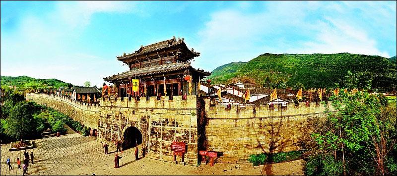 Очаровательные пейзажи города Гуанъюань провинции Сычуань