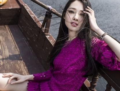 Красотка Го Битин снялась в фотосессии в провинции Юньнань