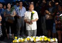 Жители Пекина на мосту Лугоуцяо почтили память героев Освободительный войны против японских захватчиков