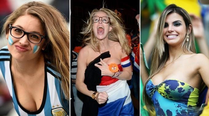 Полуфиналы чемпионата мира по футболу – сексуальные болельщики