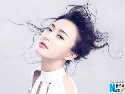 Модная фотосессия актрисы Цинь Лань