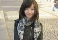 Русско-японская метиска Катя Лищина стала популярной в Интернет сети