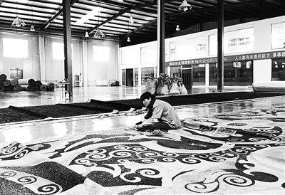 [Поездка по Великому Шелковому пути • Посмотреть Цинхай] Дорогие высококачественные тибетские ковры
