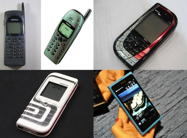 Классические мобильники бренда Nokia