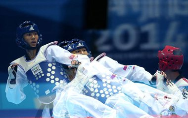 Замечательные фото с Юношеских олимпийских игр в Нанкине, снятые 17 августа