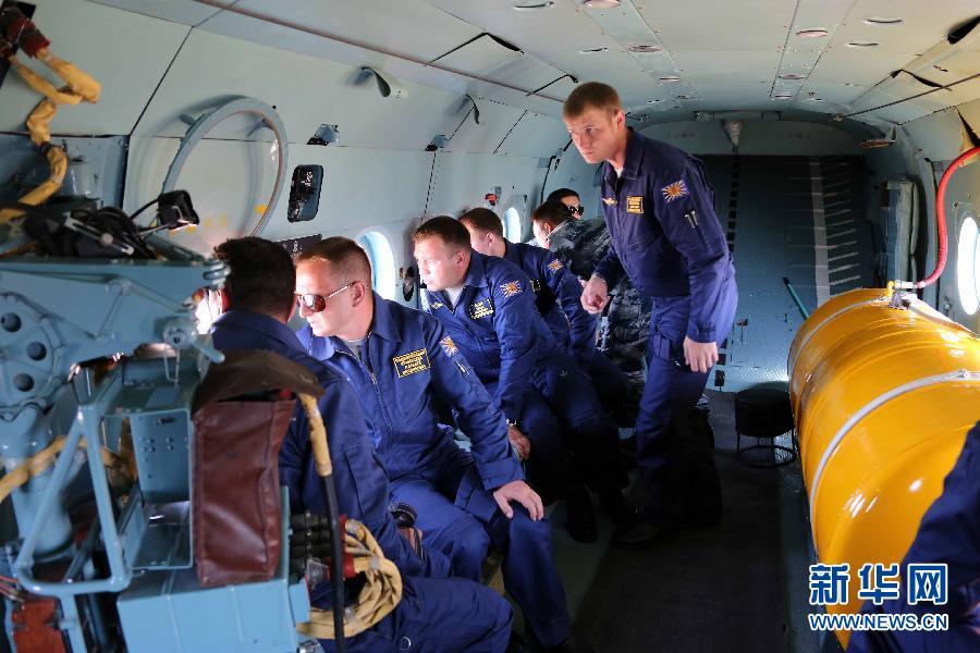 «Мирная миссия 2014»: участвующие в учениях китайские и зарубежные пилоты проводят воздушную разведку