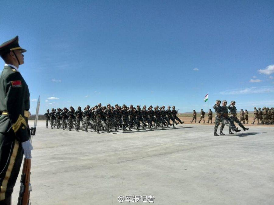 В Китае начались совместные учения «Мирная миссия-2014»