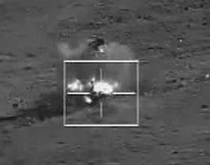 В совместных антитеррористических учениях 'Мирная миссия-2014' принял участие беспилотный военный самолет ВВС НОАК