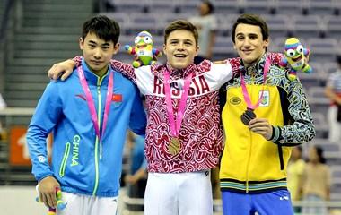 Красивые российские спортсмены на Юношескиех Олимпийских играх в Нанкине