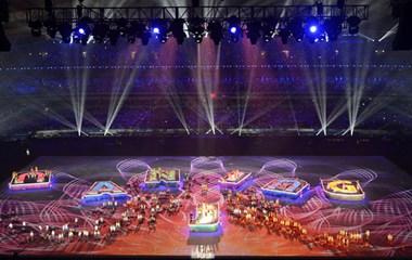 Церемония закрытия Вторых Юношеских Олимпийских игр в Нанкине