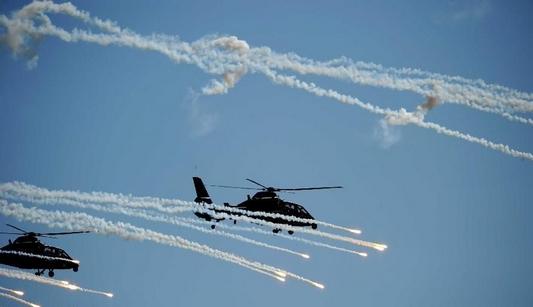 Обзор фотографии: Яркие моменты антитеррористических учений стран ШОС 'Мирная миссия-2014'