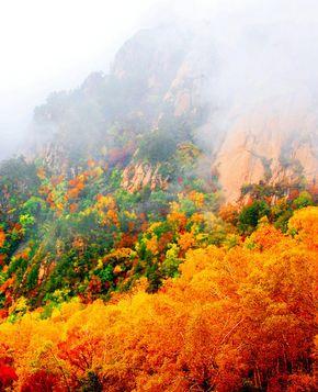 Горы Улиншань – лучшее место для проведения Праздника Луны