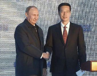 Чжан Гаоли совершил визит в РФ для участия в 11-м заседании китайско-российской комиссии по энергетическому сотрудничеству