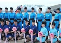 Новая униформа стюардесс Xiamen Airlines