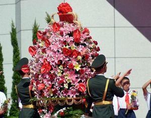 Китайское руководство приняло участие в мероприятии, посвященном 69-й годовщине победы в Войне сопротивления китайского народа японским захватчикам