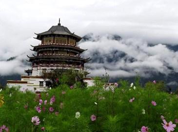 Картинные пейзажи Линьчжи в Тибетском автономном районе