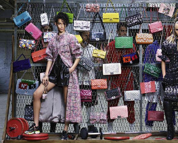 Модная женская одежда от Chanel на осень-зиму 2014