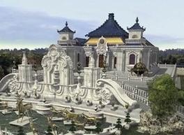 Общий вид Старого Летнего дворца в Пекине удалось восстановить с помощью 3D технологий