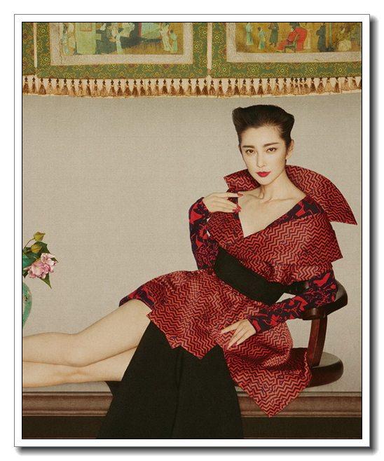 Новые фото Ли Бинбин в китайском стиле