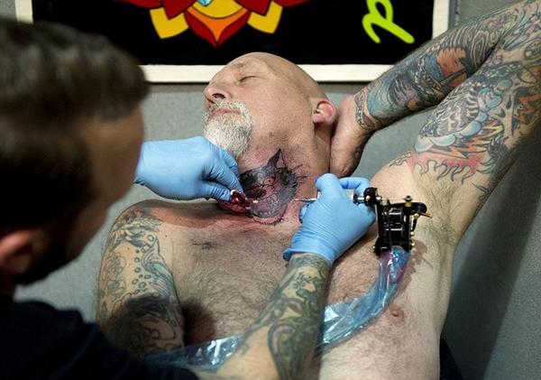 10-й фестиваль тату-искусства в Лондоне