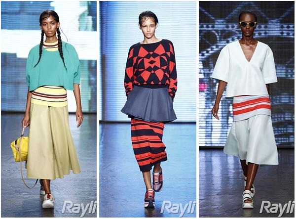 Модная женская одежда от DKNY на весну-лето 2015 г.