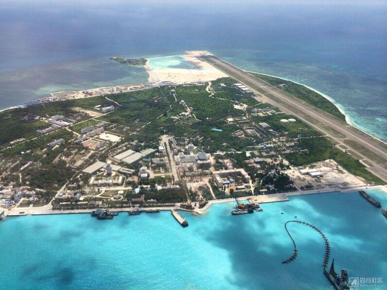 Китай расширяет город на острове Юнсин