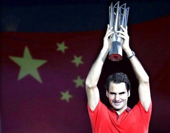 Роджер Федерер впервые в карьере выиграл 'Мастерс' в Шанхае