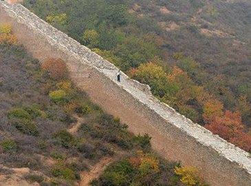 Завершены основные работы по реставрации участка Великой китайской стены 'Цзиньшаньлин'